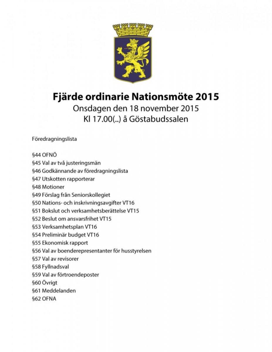 Dagordning 20151118