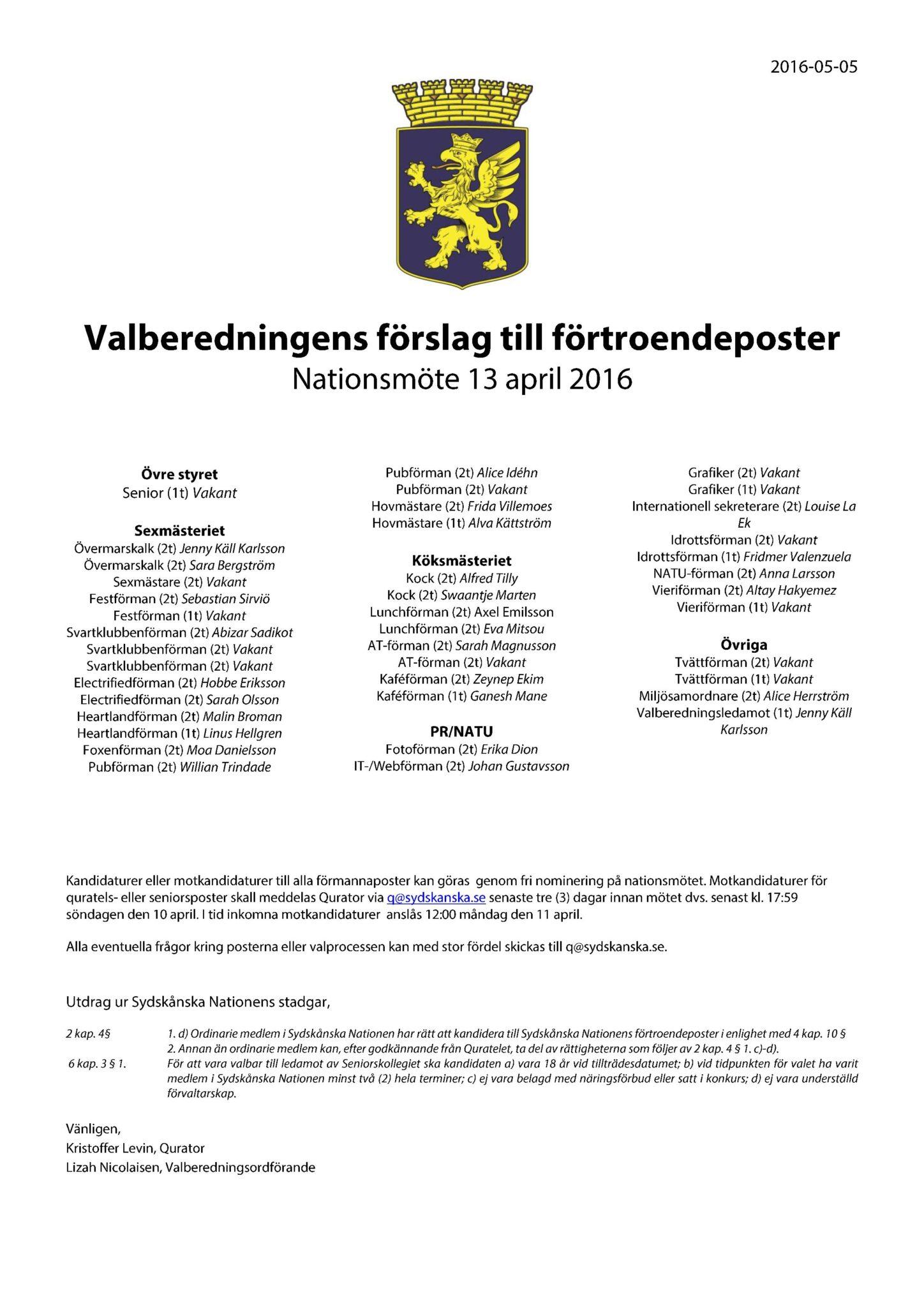 Förslag 2016-05-11